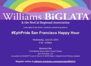 #EphPride Happy Hour 6.24.15