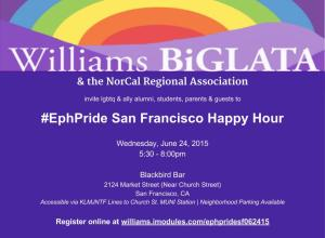 #EphPride Happy Hour 6.24.15